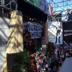 #jurassicworld at #NYCC