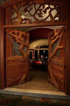 Now THAT's a door!