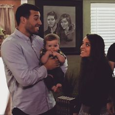 how cute are their smiles to eachother #jingerandjeremy #jeremyvuolo…