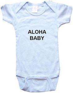 Aloha Baby Onesie #Onesie #Aloha