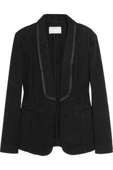 Diner stretch-denim tuxedo jacket, denim never looked better