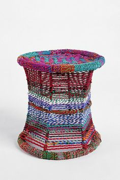 colorful side table
