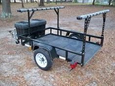 "how to make 48"" kayak carrier trailer - Google Search"