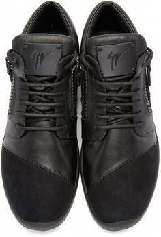 afe000e83e Giuseppe Zanotti - Black Singles Mid-Top Sneakers  GiuseppezanottiHeels  Zapatos Casuales