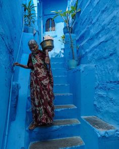 "José Jeuland - Photographer on Instagram: ""The Blue City - Jodhpur, India (Nov. 2019) . . . #bluecity #bluecityjodhpur #jodhpur #rajasthan #india #inde #travel #streetphotography…"" Blue City, Rajasthan India, Jodhpur, Street Photography, Painting, Travel, Instagram, Art, India"