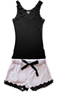 The Fashion of Lingerie Cute Pjs, Cute Pajamas, Lingerie Sleepwear, Nightwear, Pyjamas, Pijamas Women, Jolie Lingerie, Mein Style, Visual Kei