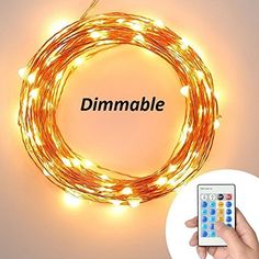 Deneve Outdoor String Lights (48ft) with Bulbs - Heavy Duty Garden Hanging Market Patio Cafe Pergola Rope String Backyard Lights Pro Weatherproof Commercial Quality Lights 48 Feet Long
