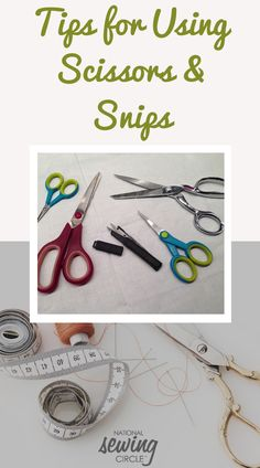 When I first started sewing, I bought an inexpensive, colorful set that had three pairs of plastic-handled scissors in different sizes and a bonus pair of thread snips. I hated them immediately. They just weren't very sharp or comfortable and the thread snips just would not cut thread easily. Then, I started taking sewing classes at a local quilt shop and I lusted after the quality metal dress shears provided in class. Sewing Machine Projects, Diy Sewing Projects, Sewing Tools, Sewing Projects For Beginners, Sewing Hacks, Sewing Ideas, Chocolate Syrup, Homemade Chocolate, Sewing Class