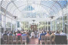 Wedding in the Conservatory