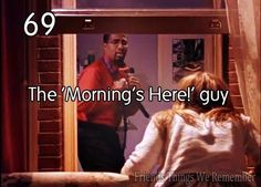 The Morning Guy!