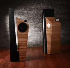 Geometric Harmony Speakers - T-Line