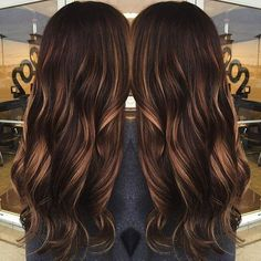 60 Chocolate Brown Hair Color Ideas for Brunettes dark brown hair with caramel babylights Chocolate Brown Hair Color, Brown Hair Colors, Mocha Hair, Mocha Brown Hair, Pretty Hairstyles, Summer Hairstyles, Wedding Hairstyles, New Hair, Hair Inspiration