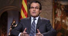 """Mas se ofrece como """"aliado"""" de España si Rajoy autoriza la consulta catalana El presidente catalán insiste en dirimir """"en las urnas"""" el enc..."""