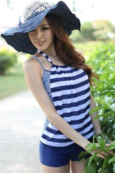 Cute tankini with style..