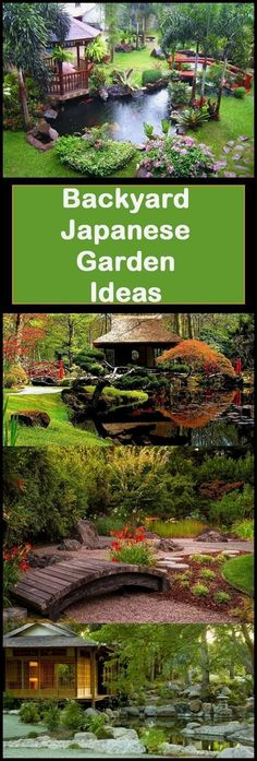 Ready to create your own backyard Japanese garden? These tips will help! I've been looking into Japanese gardening ideas to create a gorgeous space around my inflatable hot tub. I LOVE these ideas…MoreMore  #BackyardGardening