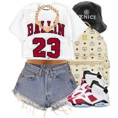 """Ballin' in Carmines."" by livelifefreelyy on Polyvore"