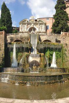 13 Meilleures Images Du Tableau Le Jardin De La Villa D Este A