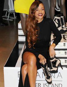 Rihanna #hairstyle