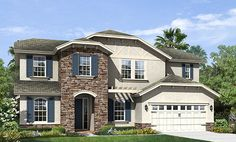 Riverside Bluffs by K. Hovnanian® Homes in Riverview, Florida Riverview Florida, New Home Communities, New Home Construction, New Home Builders, Florida Home, New Homes, Floor Plans, Mansions, House Styles