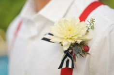 Red, White and Blue Wedding Ideas - Memorial Day Wedding