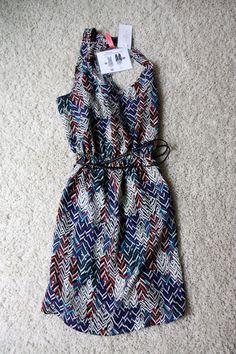 stitch fix eight sixty balazuc sleeveless belted dress...cute colors