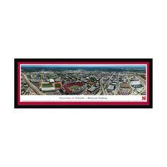 "Nebraska Cornhuskers 16"" x 42"" Premium Select Frame Panoramic Photo - $149.99"