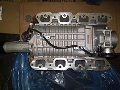 Eaton M62 Gen3 Supercharger Coated Rotor Assembly Complete
