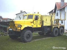 KRAZ 6X6 Heavy Duty Trucks, Road Rage, Commercial Vehicle, Tow Truck, Monster Trucks, Cars, Vehicles, 4x4, Recovery