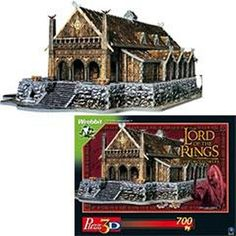 WANT WANT WANT!!! #LOTR 3D #puzzles