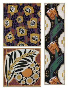 Art Deco textile designs