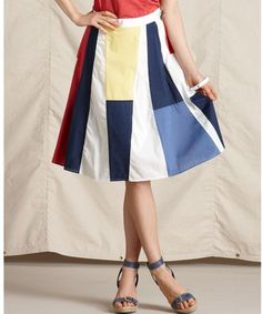 Aline Cotton Colorblock
