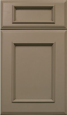 florence door style :: painted :: antique white #kitchen #cabinets ...