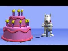 Happy Birthday - funny 30 second clip to play on kiddos' birthdays.