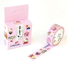 Hello Kitty Decorative Paper Washi Tape by PlayingWithColor2