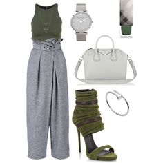 8d8313b44d7 Army green by betsyella-elvina-priyanto on Polyvore featuring polyvore