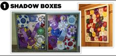 shadowboxes & other ribbon ideas Horse Ribbon Display, Horse Show Ribbons, Ways To Recycle, Project Ideas, Projects, Wreath Ideas, Show Horses, Livestock, Display Ideas