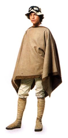 Luke's Tatooine outfit from Star Wars: A New Hope