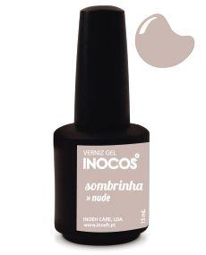 Verniz de Luxo - Inocos Verniz Gel 15ml Sombrinha (Nude Suave)