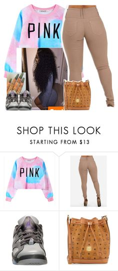 """""""School-Me ✨"""" by newtrillvibes ❤ liked on Polyvore featuring Chicnova Fashion, NIKE and MCM"""