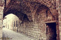 Alleys of Qen'esrin and Jalloum neighborhoods - Aleppo