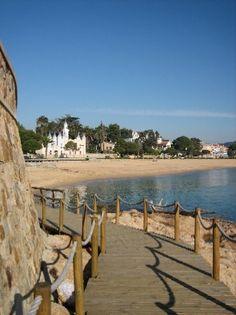 Platja Sant Pol Costa Brava des de el camí de Ronda