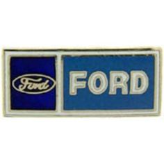 """Ford Logo Pin Blue 1"""" by FindingKing. $8.99. This is a new Ford Logo Pin Blue 1"""""""