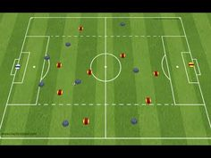 Defending crosses as a back 4 - COMP 2 Football Training Drills, Soccer Drills, Soccer Coaching, Open Games, Football Is Life, Liverpool Fc, Crosses, 1, Soccer Stuff