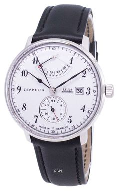 Zeppelin Series LZ 129 Hindenburg Germany Made 70601 Men's Watch - CityWatches. Zeppelin Watch, Krystal, Stainless Steel Case, Watches For Men, Helmet, Germany, Jewels, Leather, Accessories