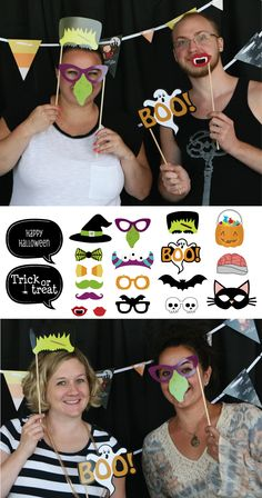 Trick or Treat - Halloween Party Photo Props for kids or adult parties | BigDotOfHappiness.com