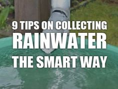 9 Tips On Collecting Rainwater
