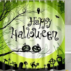 papasgjx Halloween Pumpkin Ghost Waterproof Polyester Fabric Bathroom Shower Curtain inches 79 x 71 Happy Halloween ** See this wonderful product. (This is an affiliate link ). Halloween Shower Curtain, Halloween Bathroom, Vintage Swimsuits, Women's One Piece Swimsuits, High Waited Swimsuit, One Piece For Women, Bathroom Shower Curtains, Plus Size Swimwear, Happy Thanksgiving