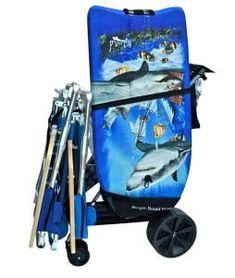 Super Ultra Wide Wheel Wonder Wheeler Beach Cart w/Bodyboard Holder : Sports & Outdoors Beach Fun, Beach Trip, Folding Wagon, Fishing Cart, Beach Wagon, Beach Cart, Beach Items, Camping Furniture, Umbrella Holder