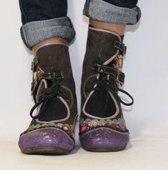 GINGER - PISAVERDE,diseño y producción de calzado ARTESANO