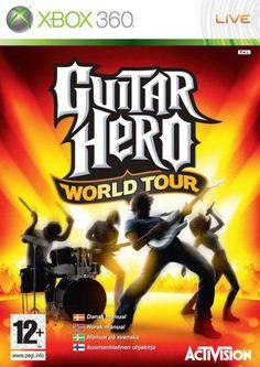 Guitar Hero World Tour Xbox 360  Guitar Hero World Tour, el videojuego musical que te ara gritar de la emoción. La lista es de lo más variada e incluye 86 canciones originales de algunos de los artistas más prolíficos de todos los tiempos, como Jimi Hendrix, The Doors, Van Halen, Metallica, Ozzy Osburne y más.